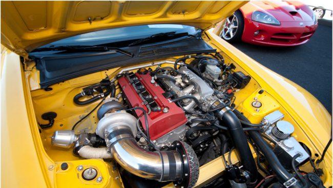 Honda S2000 c F20C турбо
