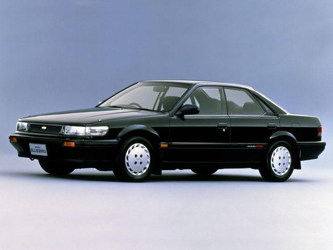 Двигатели восьмого поколения Nissan Bluebird