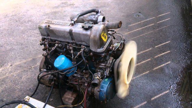 Двигатель LD20