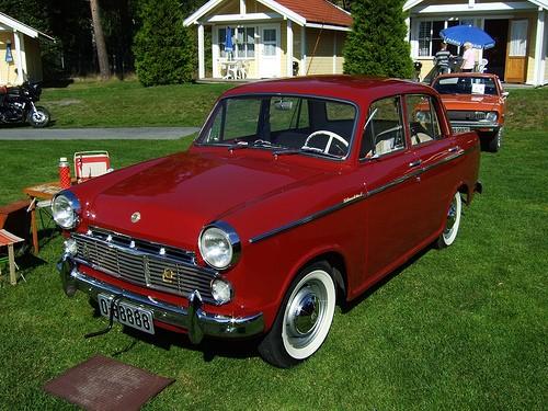 Nissan Bluebird первого поколения 1961 года выпуска
