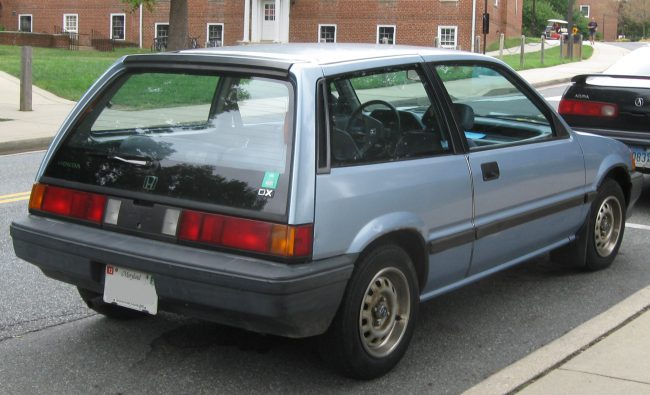 Honda Civic 3 поколение