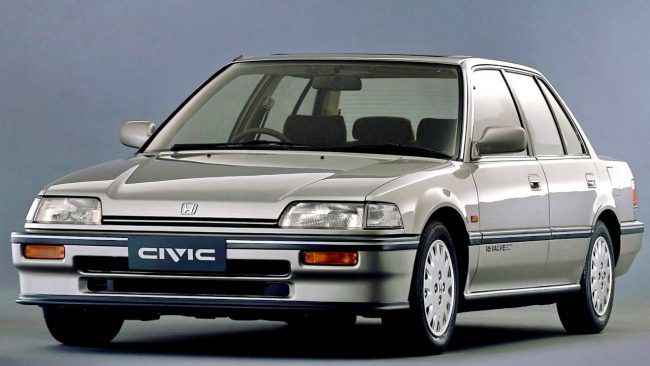 Honda Civic 4 поколение
