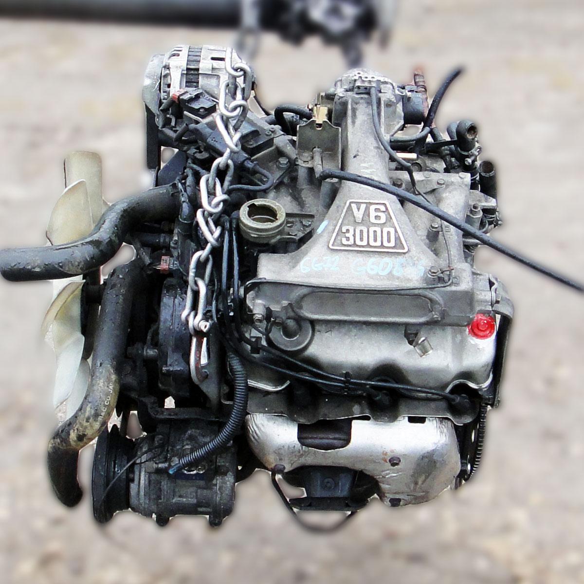 Мотор 6G72 SOHC V12