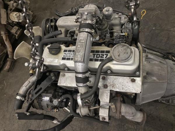 Дизельный силовой агрегат TD27T