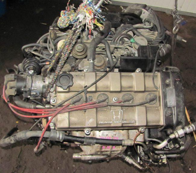 Двигатель Honda B18A