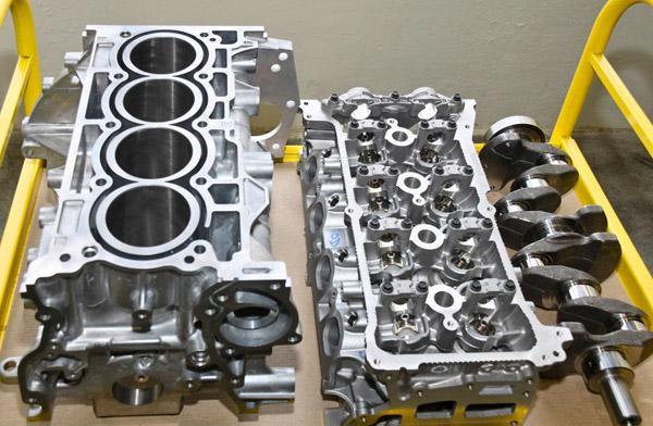 Переборка двигателя H4M