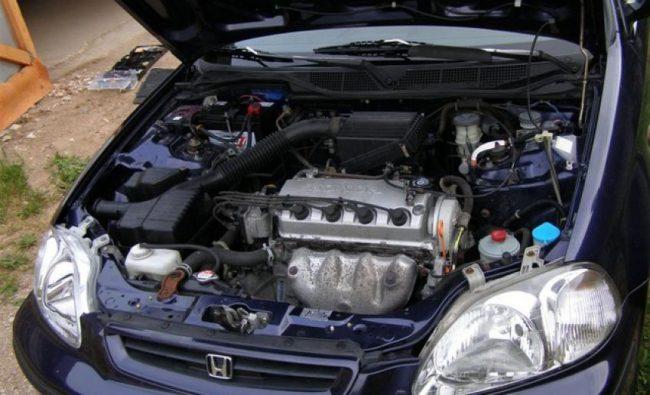 Двигатель Honda d14a