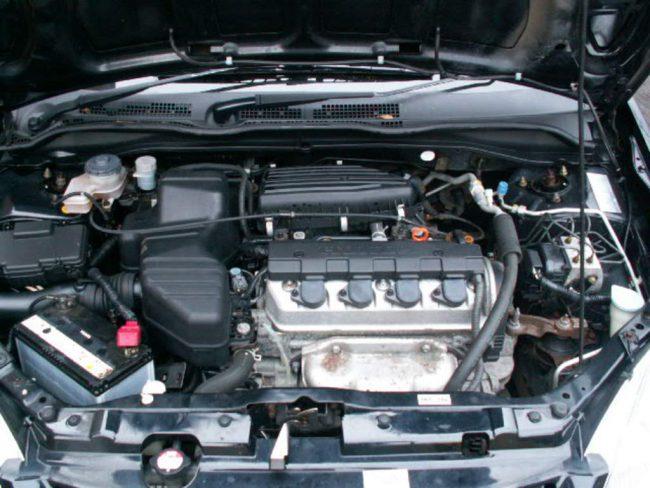 Двигатель honda d16v1