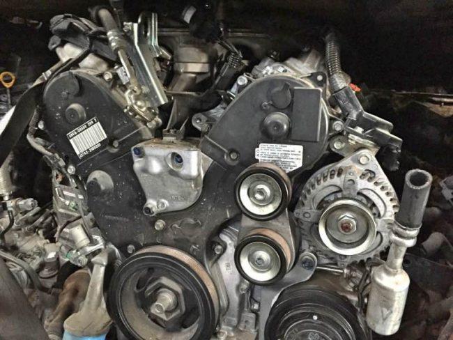 Двигатель j37a