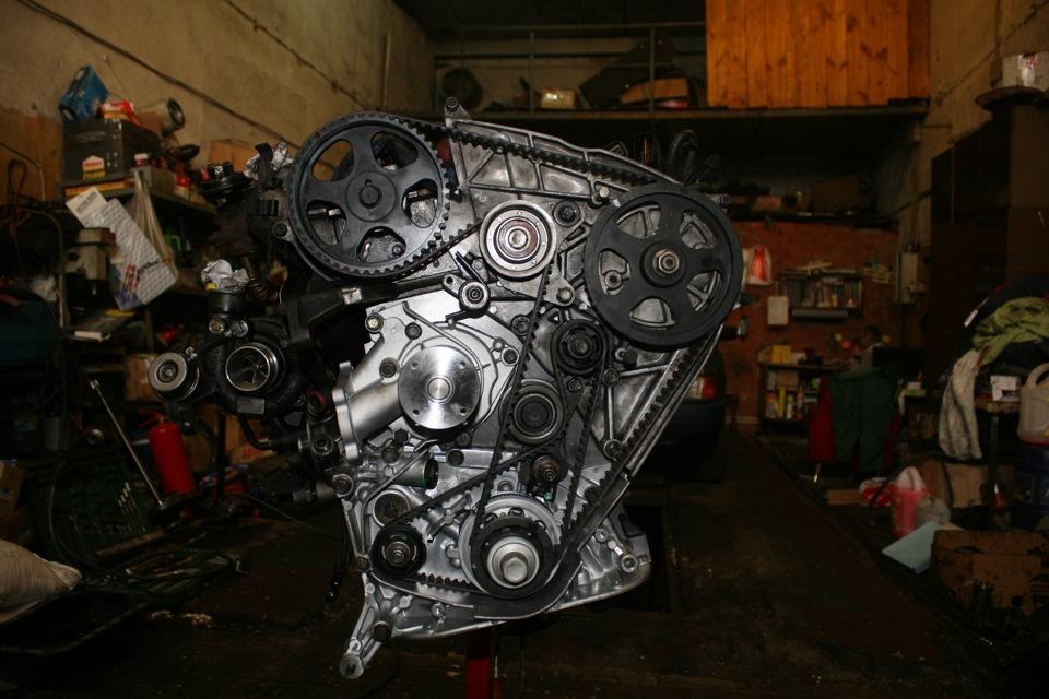 Ремни на двигателе