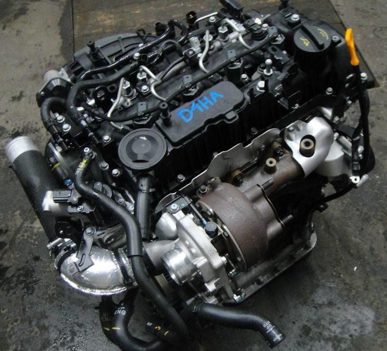 Двигатель D4HA