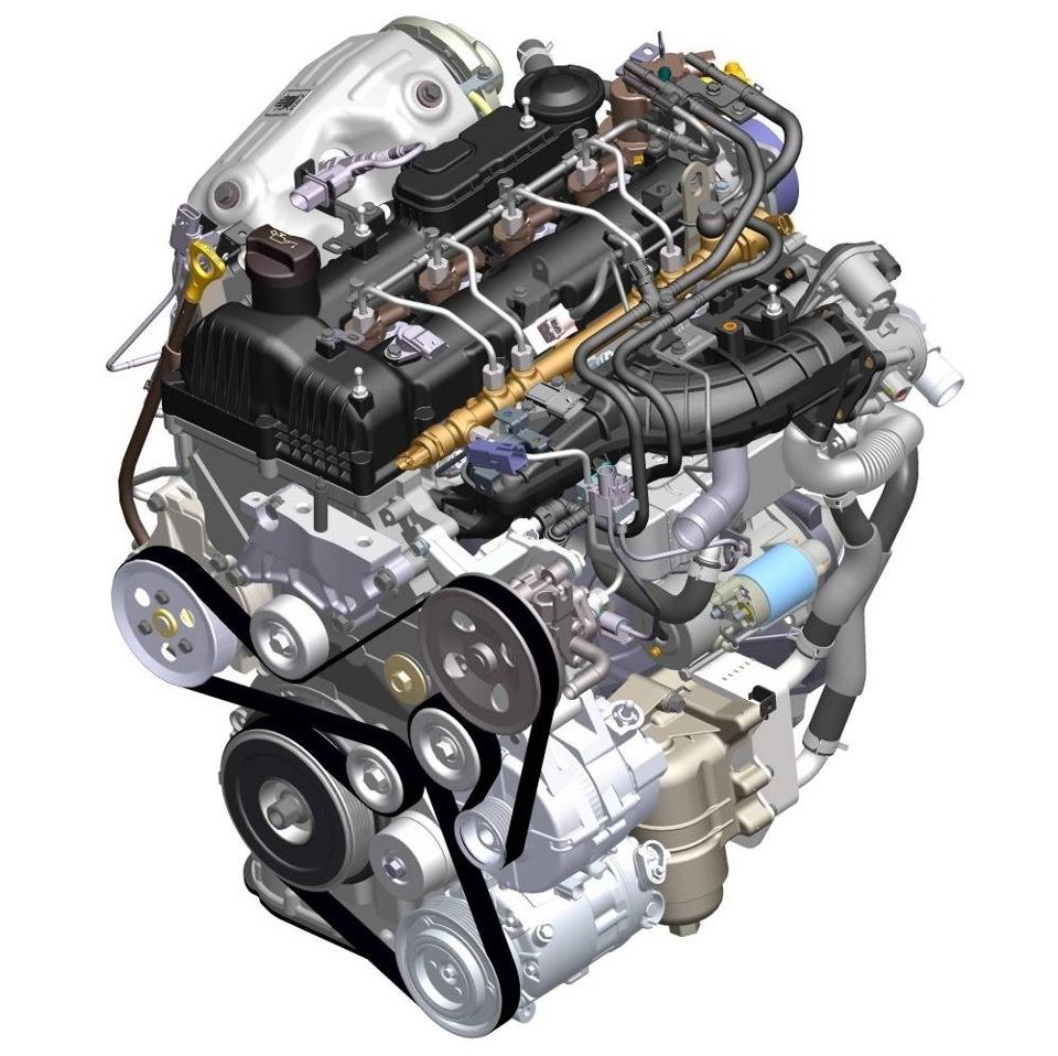 Дизельный мотор D4HB