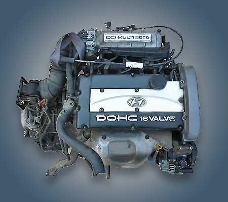 Двигатель G4CP