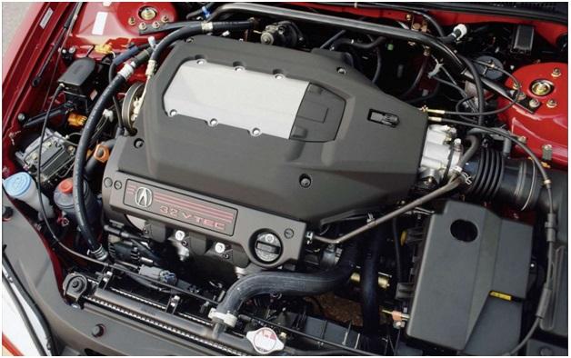J32A2 в подкапотном пространстве Acura CL Type S