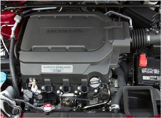 J35Y в подкапотном пространстве Honda Accord