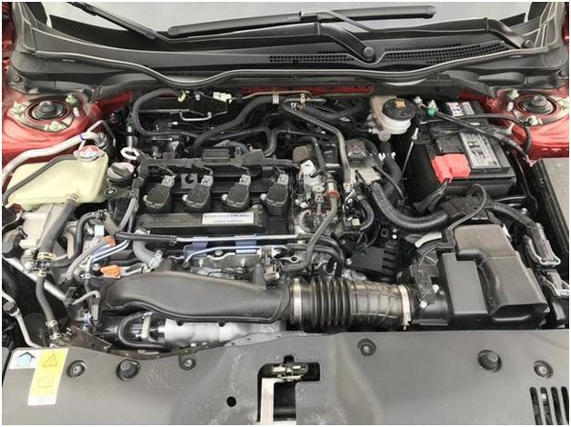 L15C в подкапотном пространстве Honda Civic 2017 1.5 Turbo