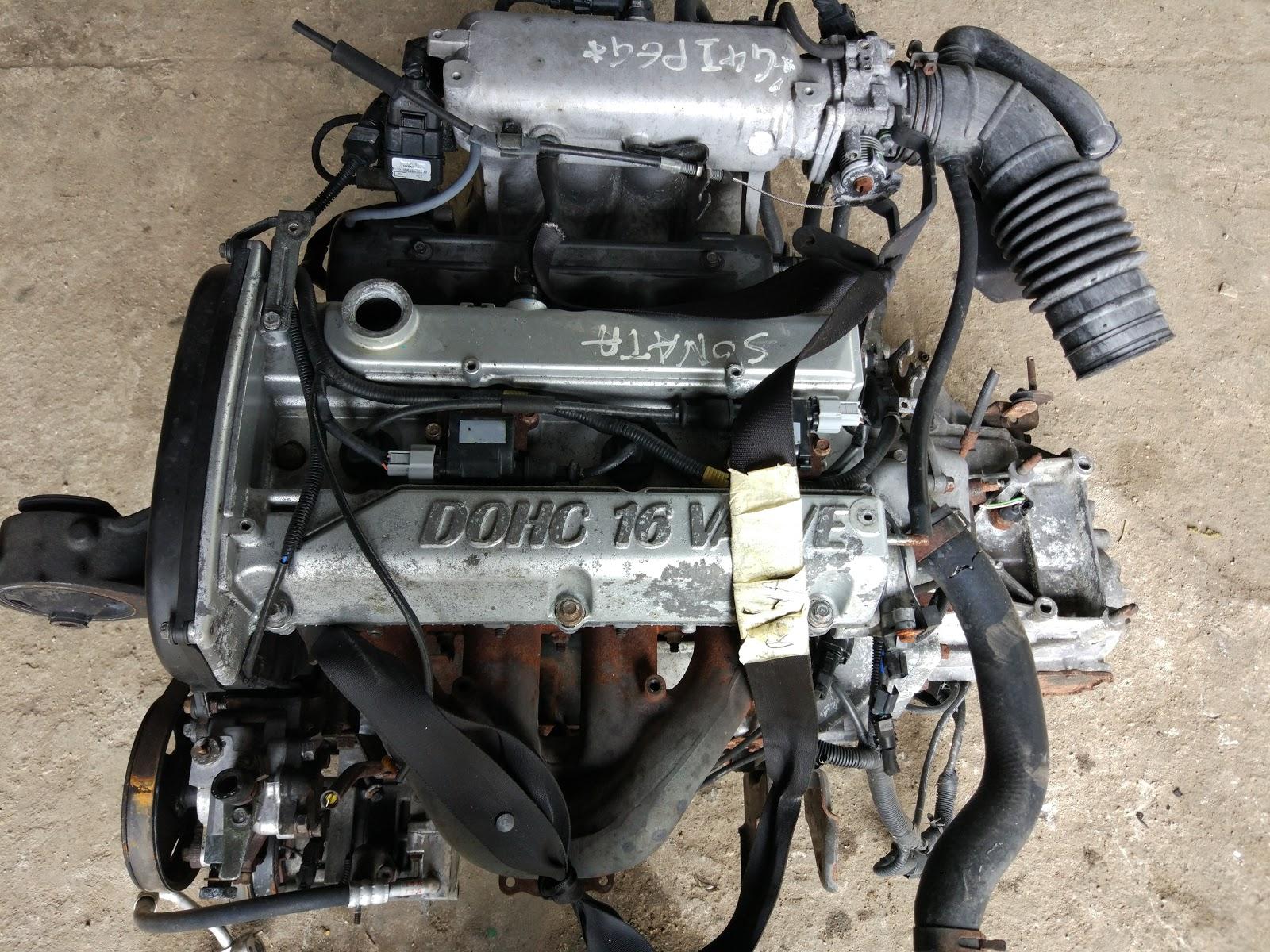 2-литровый двигатель G4JP