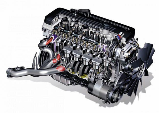 Двигатель M54B30