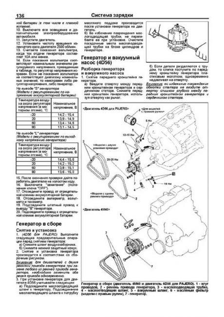 система зарядки двигателя