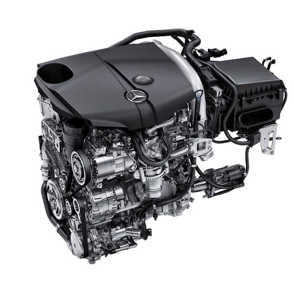 Мерседес двигатель