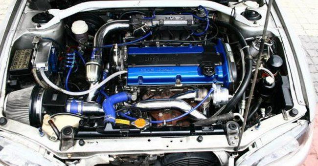 Двигатель 4G93T