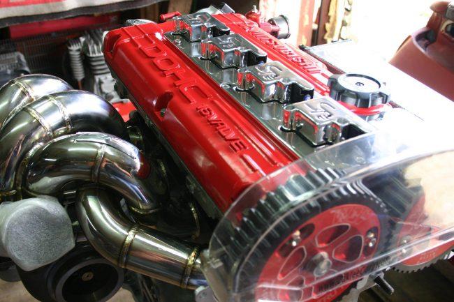 Мотор Mitsubishi 4G63T