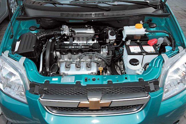 Двигатели Aveo