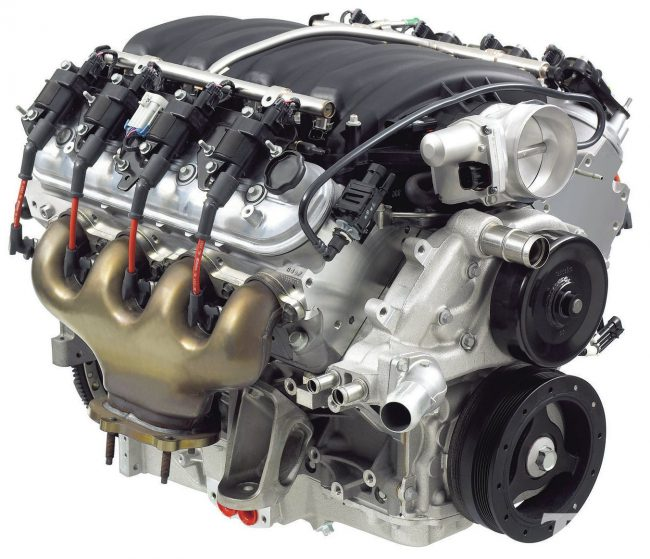 Двигатель GMC L92