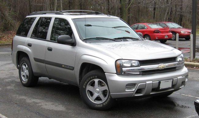 Chevrolet TrailBlazer первого поколения