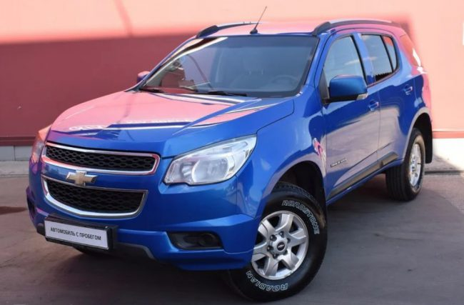 Вторая генерация Chevrolet TrailBlazer