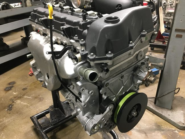 Двигатель LL8 объёмом 4,2 литра