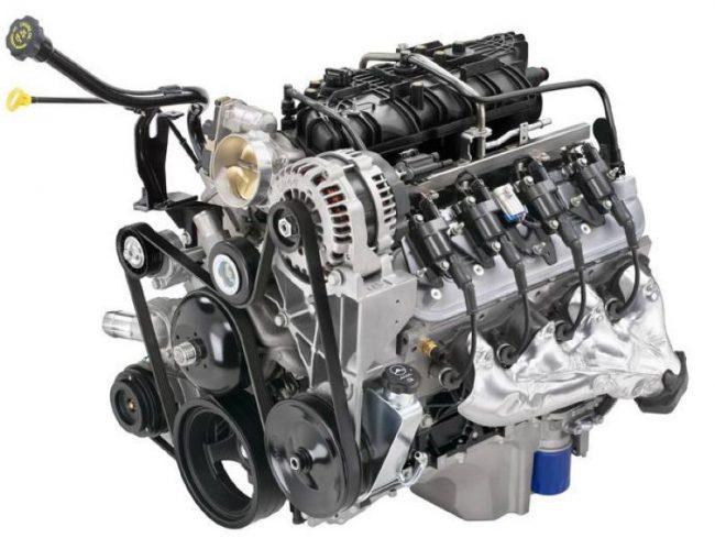 Двигатель Vortec V8 объёмом 5,3 литра
