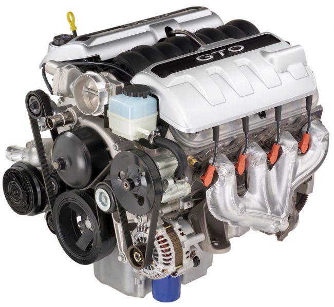 Мотор LS2 объёмом 6 литров