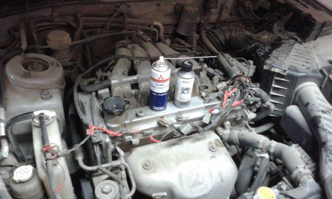 Двигатель 4G93 1.8 GDI