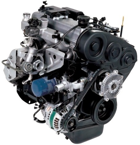 Мотор 4D56