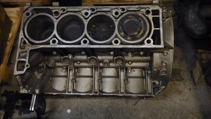 Блок цилиндров нового мотора