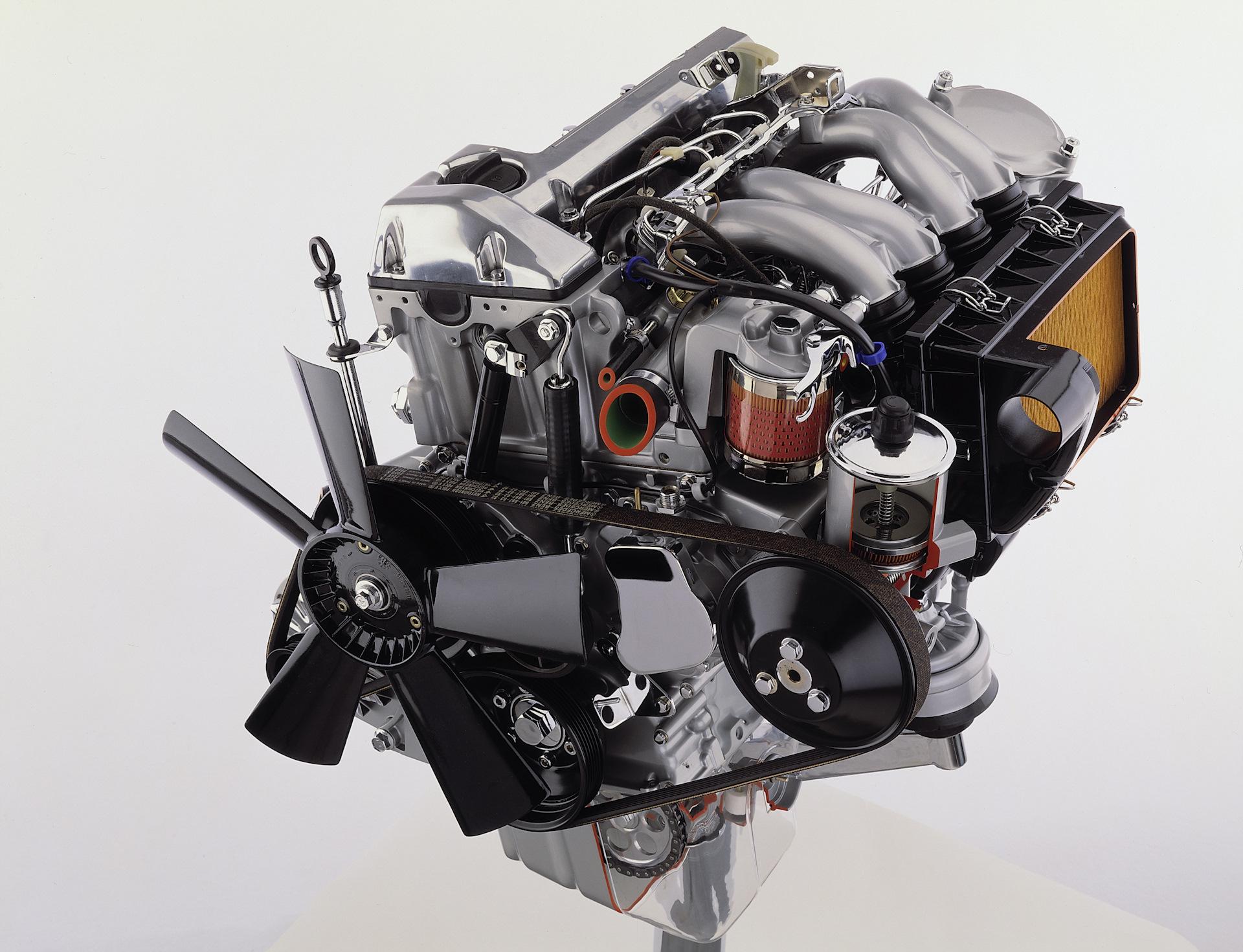 Новый мотор OM601