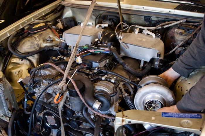 Системы двигателя M275