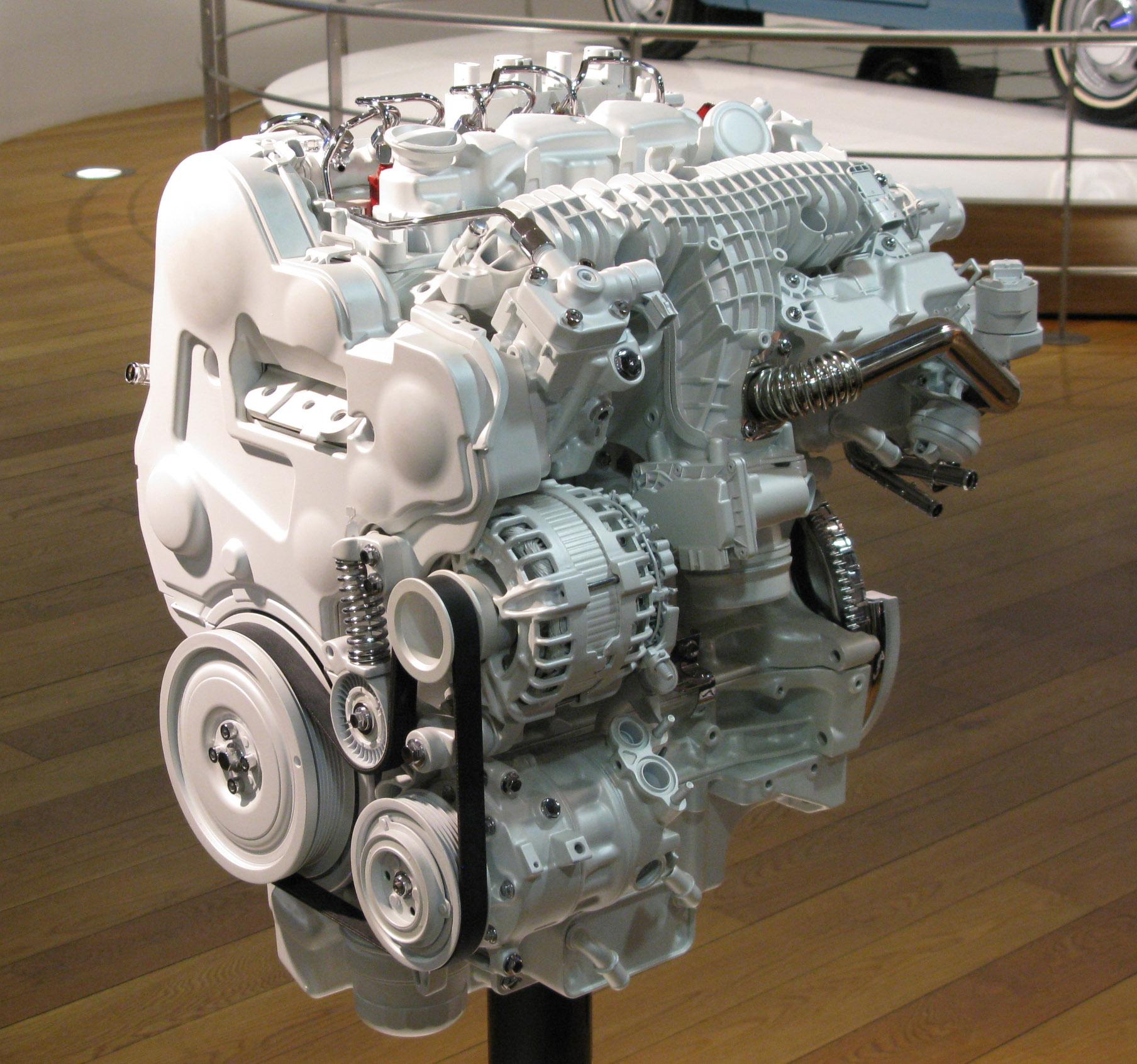 Общая архитектура двигателей Вольво