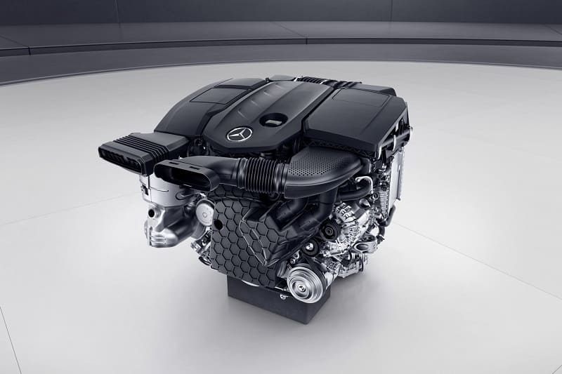 Мерсовский мотор 654