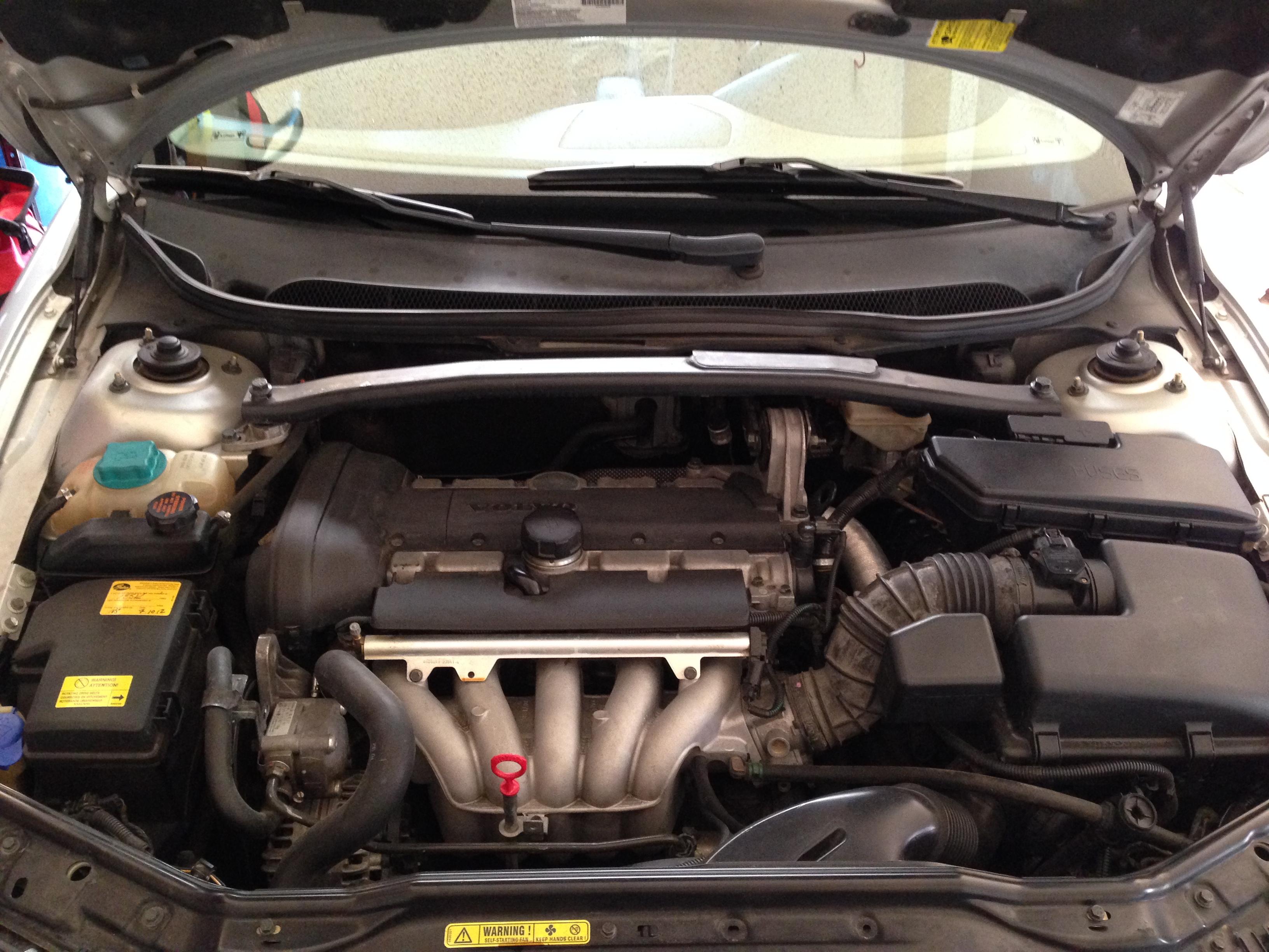 Двигатель B5244S