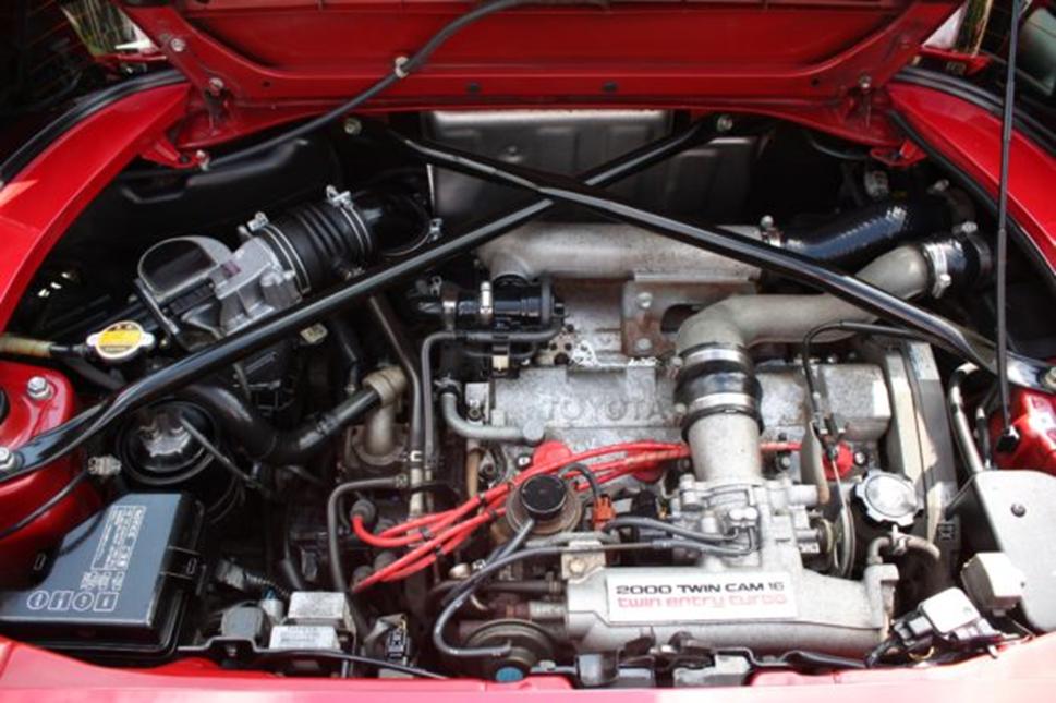 3S-GTE под капотом MR2 Turbo 1991 г. в.
