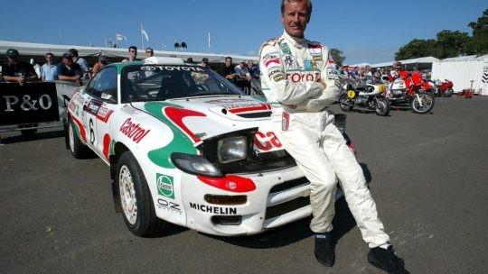 Чемпион мира по авторалли (1991, 1993) на Toyota Celica финн Юха Канккунен
