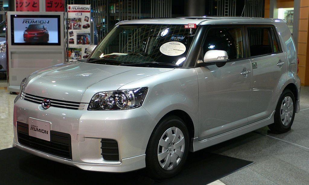 Corolla Rumion первого поколения (E150)