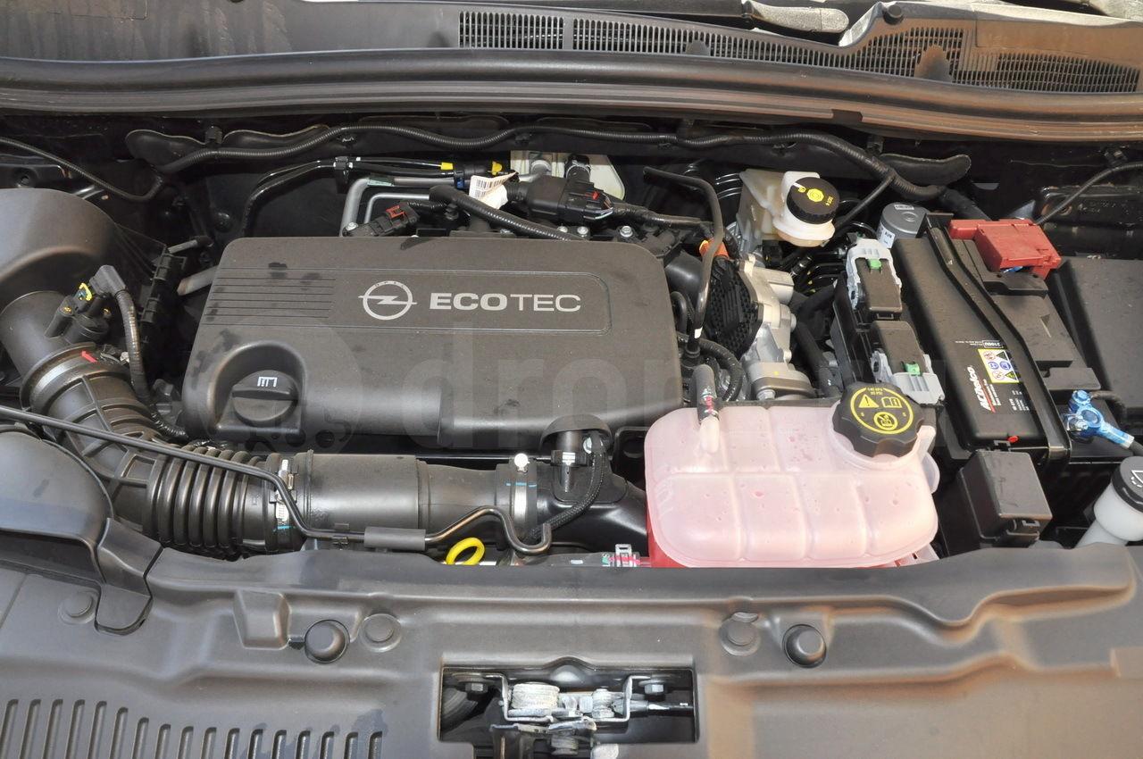 Дизельный двигатель A17DTS на Opel Mokka