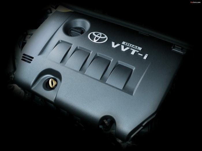 Двигатель 1.8 литра (2 ZR-FE DUAL VVT-I) под капотом Toyota ist 2007 г. в. в редкой максимальной комплектации «G»