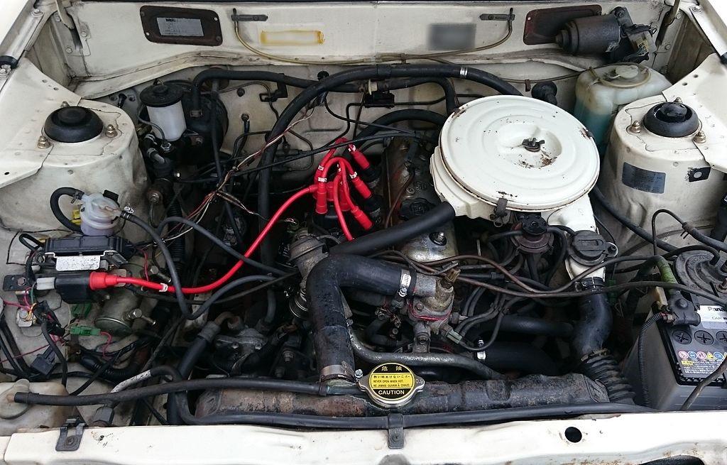 Двигатель 4K