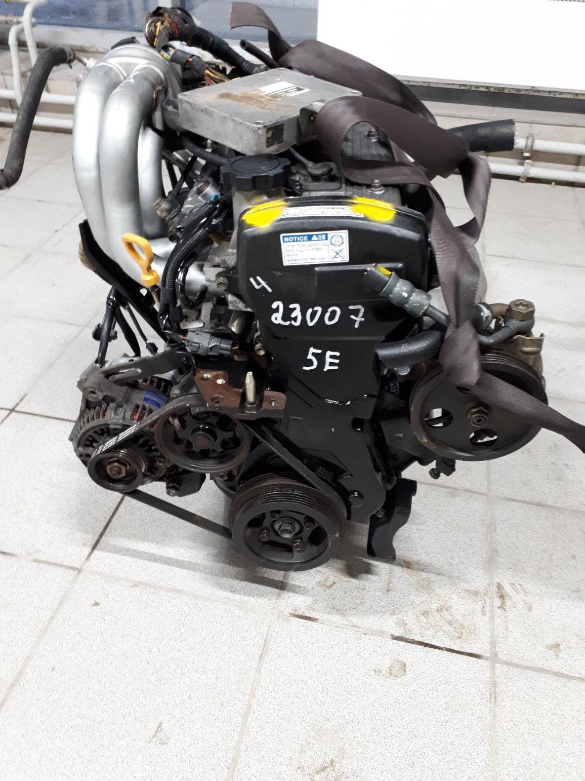 Двигатель 5E-FE для Toyota Raum