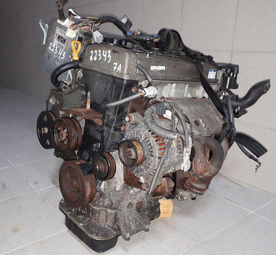 Двигатель 7A-FE на Toyota Caldina