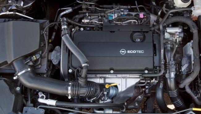 Двигатель Opel A16LET